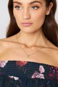 NA-KD Accessories Letter Charm Necklace - Gold