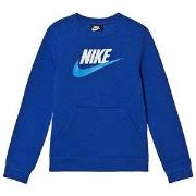 NIKE Club Fleece Sweater Blue XS (6-8 years)