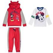 Paketti Disney® Mickey Mouse Collegepuku + Pitkähihainen Paita Valkoin...