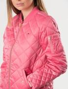 Tommy Hilfiger, THKG QUILTED BOMBER JACKET, Vaaleanpunainen, Takit / F...