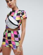 Jade Clark x Tara Khorzad city shorts in abstract print-Yellow