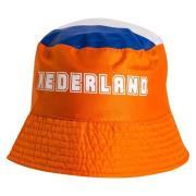Hollanti Kalastajahattu - Oranssi/Punainen/Valkoinen/Sininen